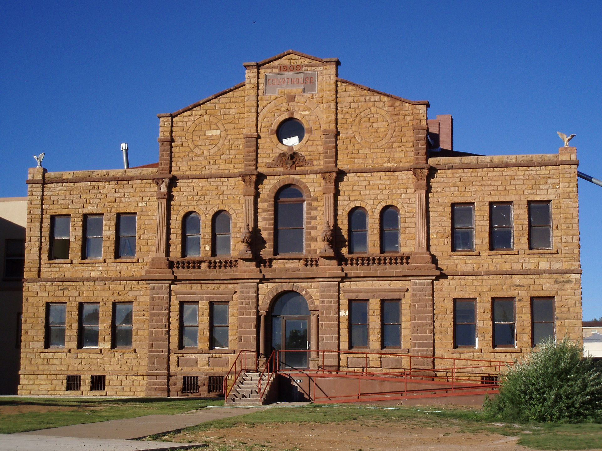 Guadalupe Courthouse in Santa Rosa, NM