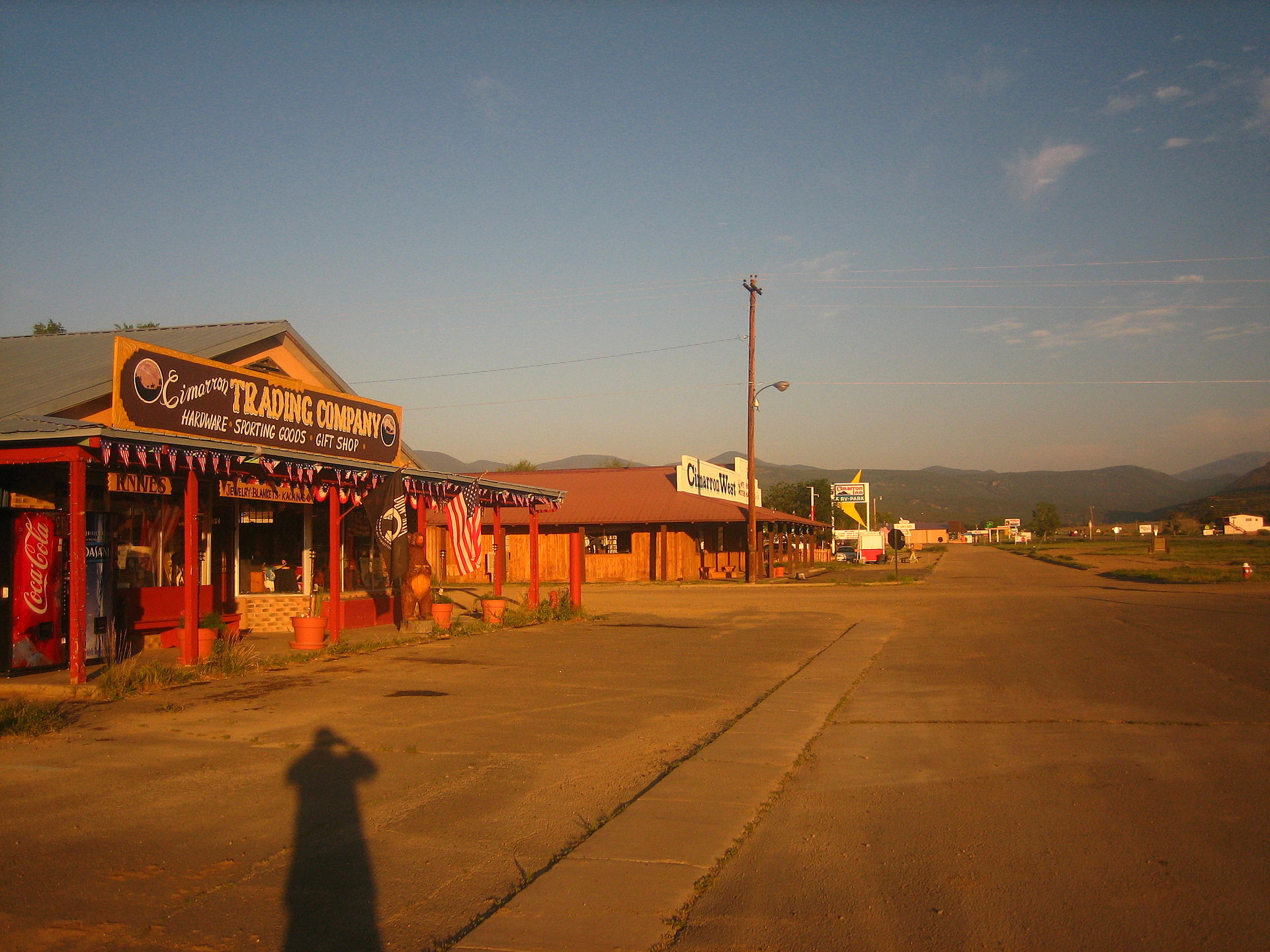 Downtown Cimmaron, New Mexico