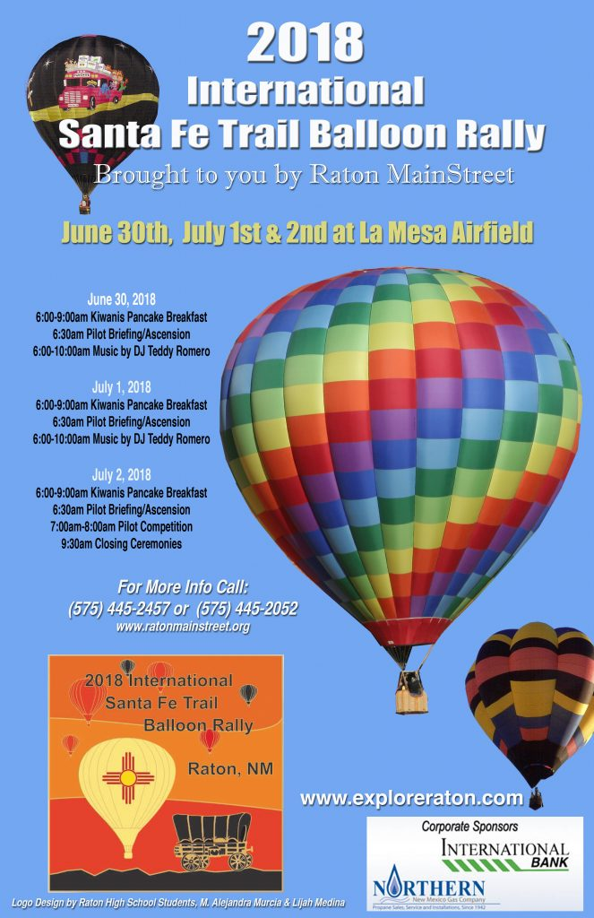 International Santa Fe Trail Balloon Rally @ La Mesa Park Airport | Raton | New Mexico | United States
